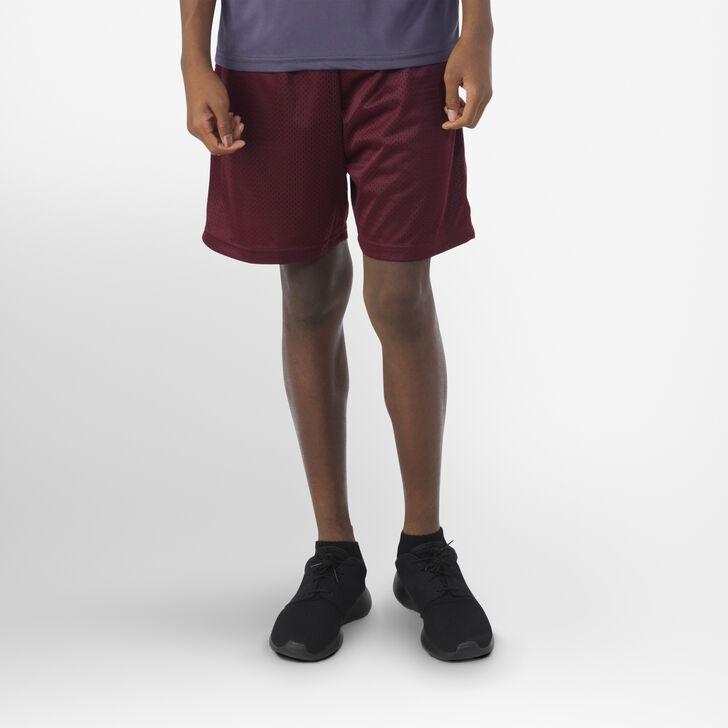 Youth Dri-Power® Mesh Shorts MAROON