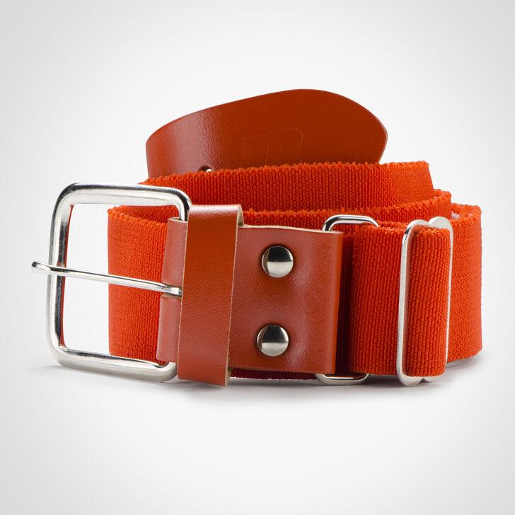 Adult Adjustable Baseball/Softball Belt BURNT ORANGE