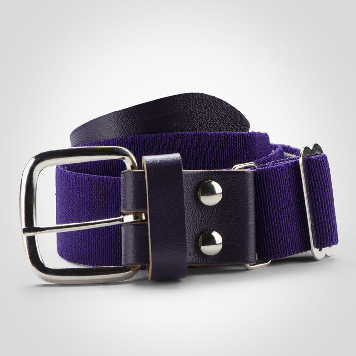 Youth Adjustable Baseball/Softball Belt PURPLE