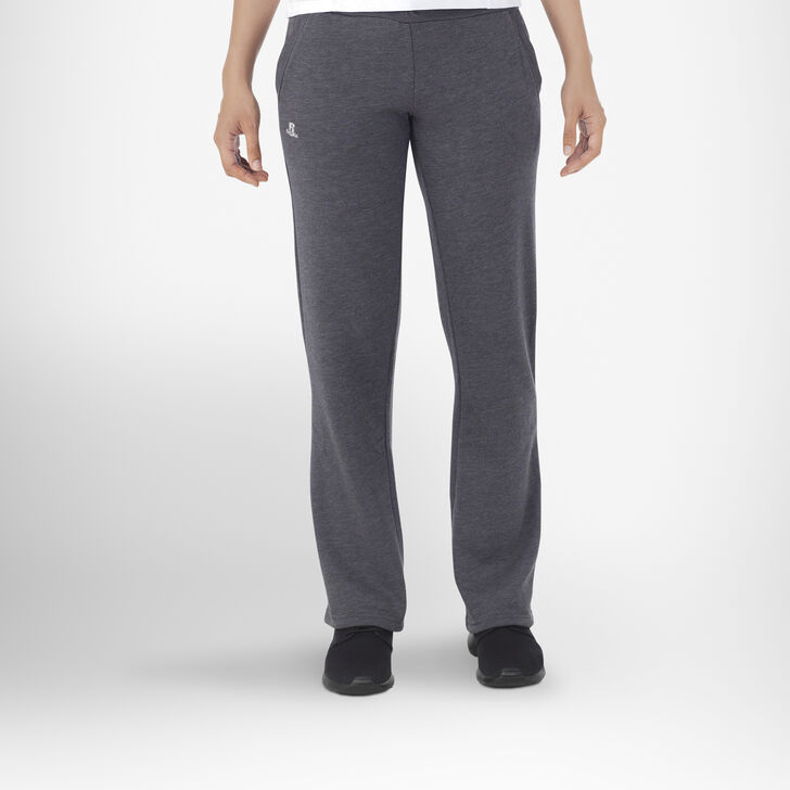 Women's Fleece Sweatpants BLACK HEATHER
