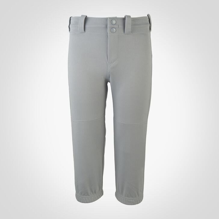 Youth Knicker Softball Pants BASEBALL GREY