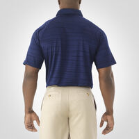 Men's Dri-Power® Striated Polo NAVY