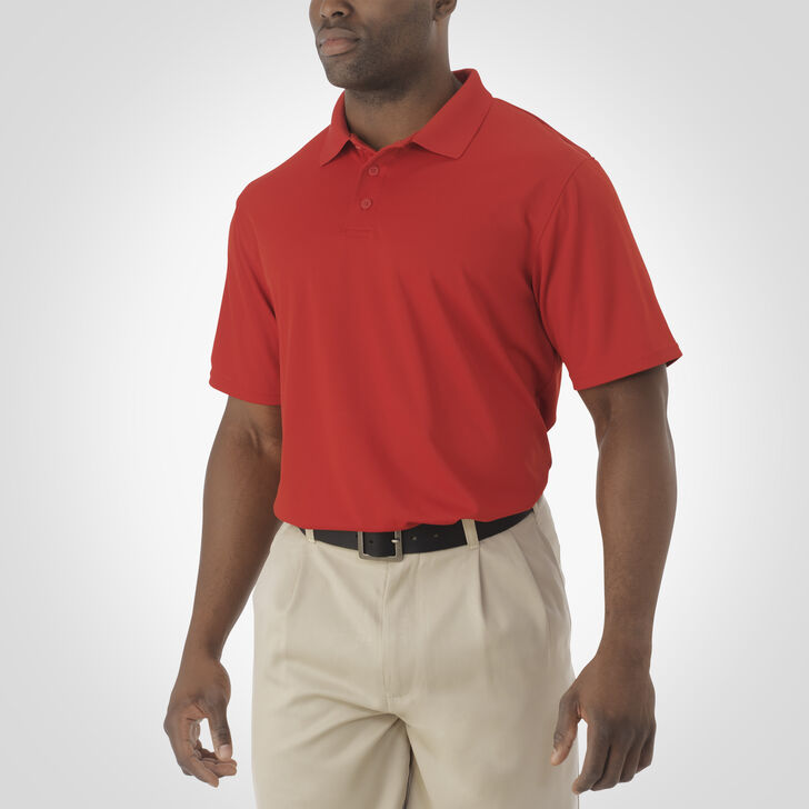 Men's Dri-Power® Essential Short Sleeve Polo TRUE RED