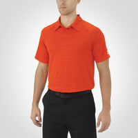 Men's Dri-Power® Striated Polo VARSITY ORANGE