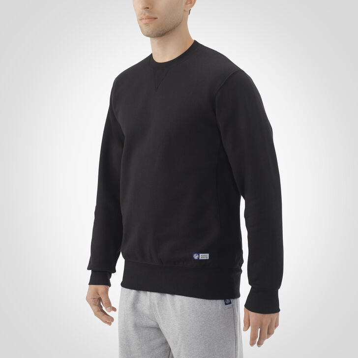 Men's Pro10 Fleece Crew Sweatshirt BLACK