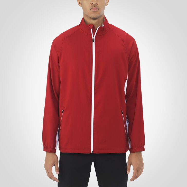 Men's Woven Warm Up Jacket