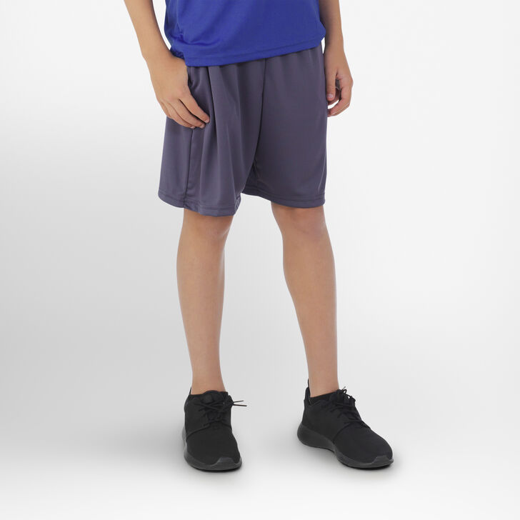 Youth Dri-Power® Essential Performance Shorts with Pockets STEALTH