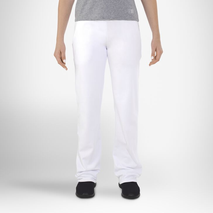 Women's Dri-Power® Tech Fleece Pants WHITE