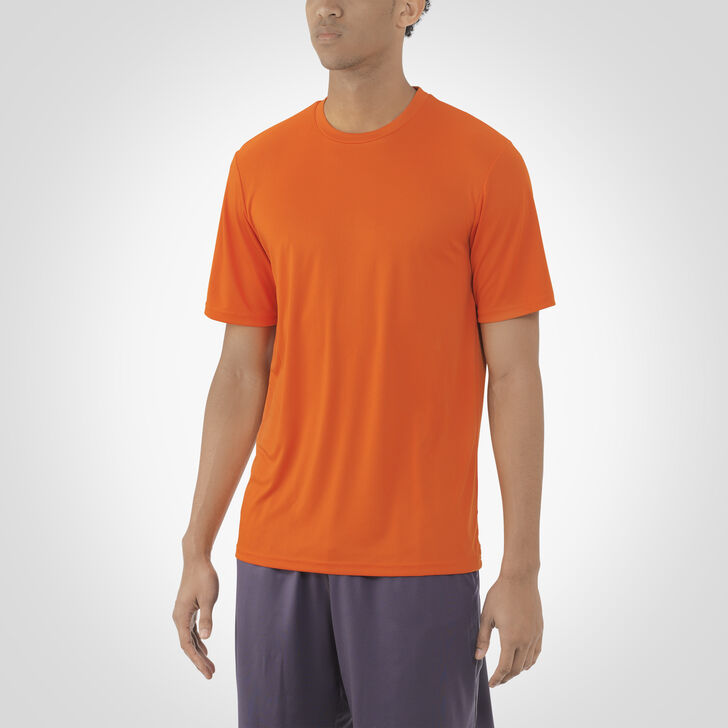 Men's Dri-Power® Core Performance Tee BURNT ORANGE