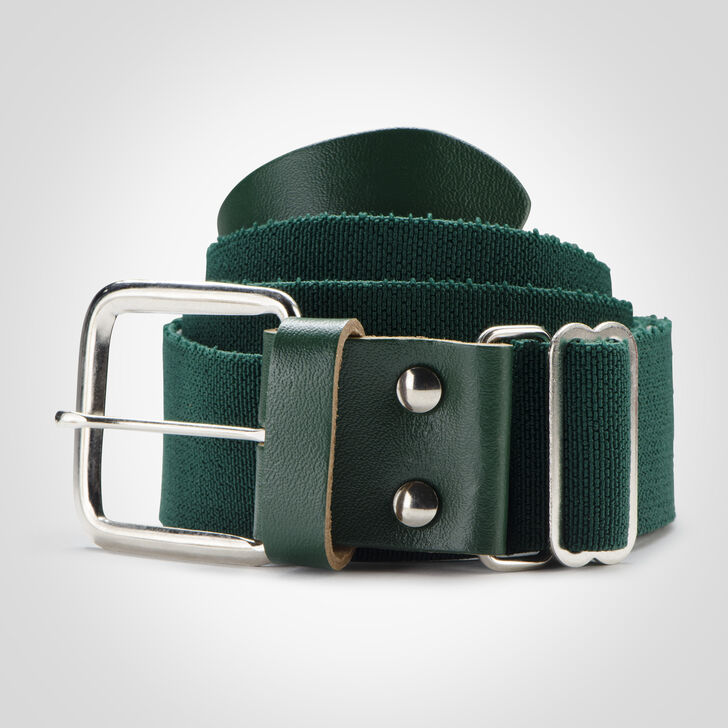 Adult Adjustable Baseball/Softball Belt DARK GREEN