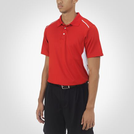 Men's Premium Gameday Polo TRUE RED/WHITE