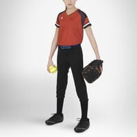 Youth Knicker Softball Pants BLACK