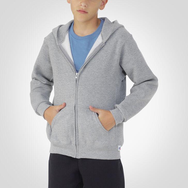 Youth Dri-Power® Fleece Full-Zip Hoodie OXFORD