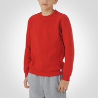 Youth Dri-Power® Fleece Crew Sweatshirt TRUE RED