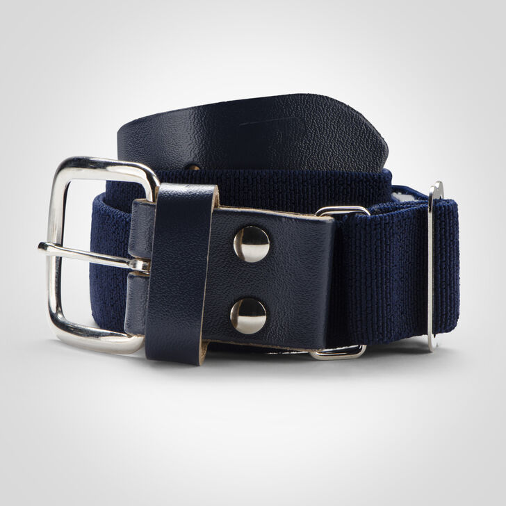 Youth Adjustable Baseball/Softball Belt NAVY