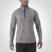 Men's Dri-Power® Lightweight 1/4 Zip Pullover BLACK
