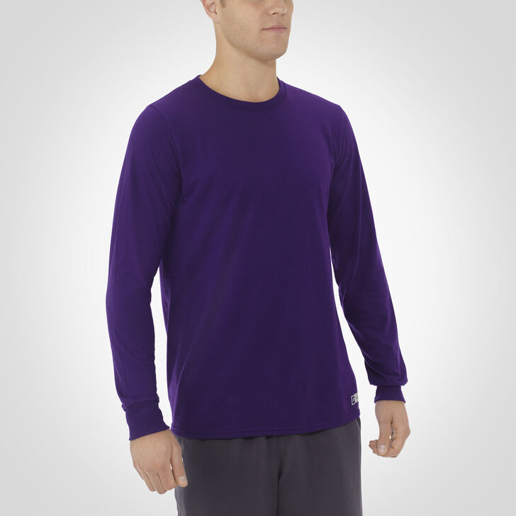 Men's Essential Long Sleeve Tee PURPLE