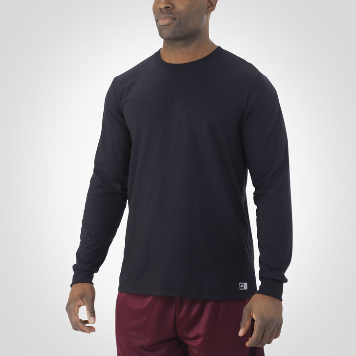 Men's Essential Long Sleeve Tee BLACK