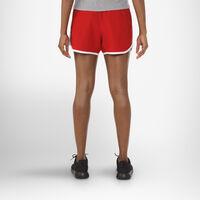 Women's Woven Running Shorts TRUE RED/GSV/WHITE