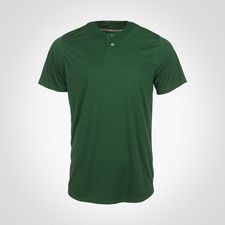 Men's Dri-Power® Solid Baseball Jersey DARK GREEN