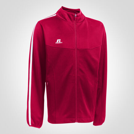 Youth Gameday Warm Up Jacket TRUE RED/WHITE