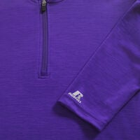 Men's Dri-Power® Lightweight 1/4 Zip Pullover PURPLE