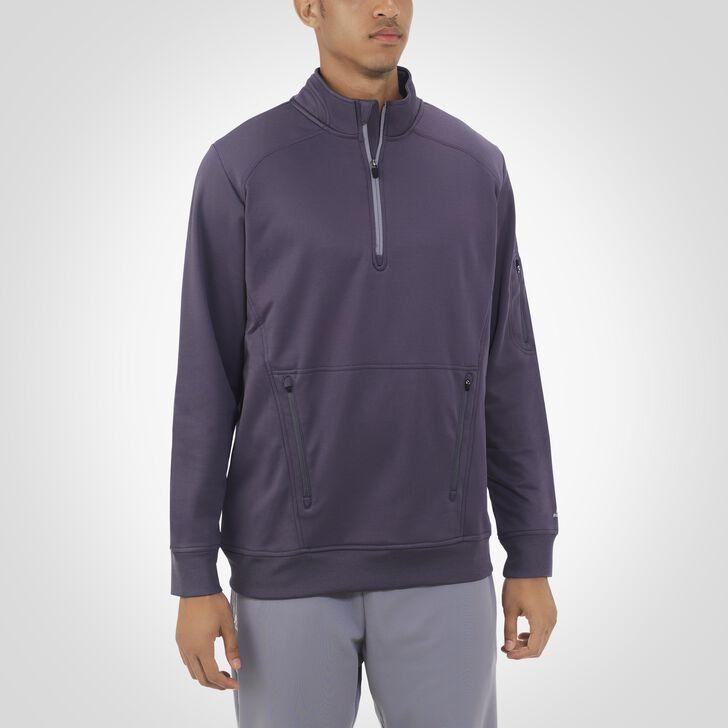 Men's Dri-Power® Tech Fleece 1/4 Zip Pullover STEALTH