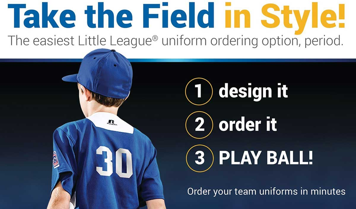 Little League® and Russell Athletic® Team Up to Launch New Online Uniform Builder Site, LittleLeagueUnifroms.com