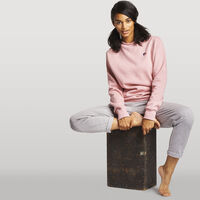 Women's Heritage Oversized Fleece Crew Sweatshirt PINK