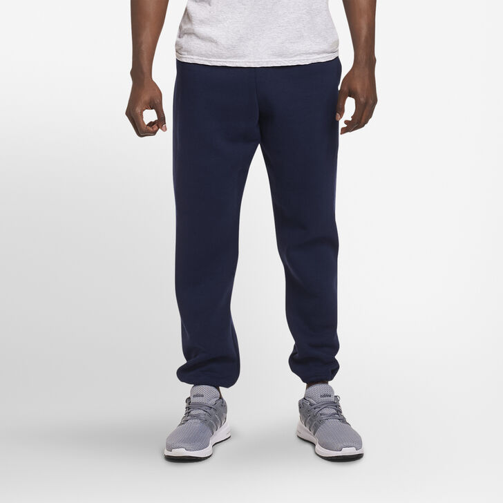 Men's Dri-Power® Closed-Bottom Sweatpants with Pockets Navy