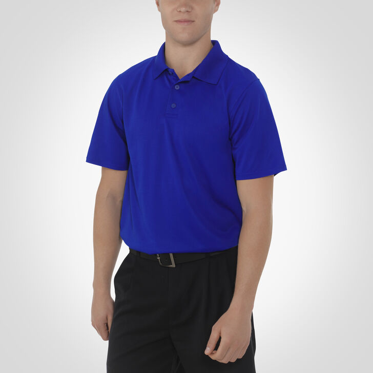 Men's Dri-Power® Essential Short Sleeve Polo ROYAL