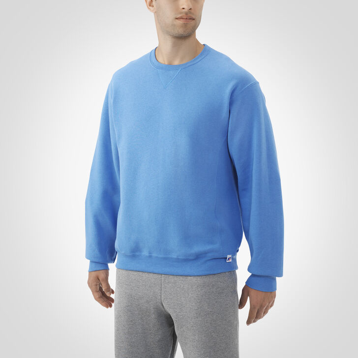 Men's Dri-Power® Fleece Crew Sweatshirt COLUMBIA BLUE