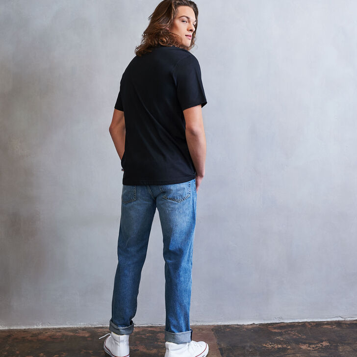 Men's Heritage Baseliner T-Shirt BLACK