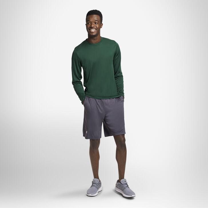 Men's Dri-Power® Performance Long Sleeve T-Shirt DARK GREEN