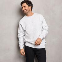 Men's Cotton Classic Fleece Crew Sweatshirt ASH