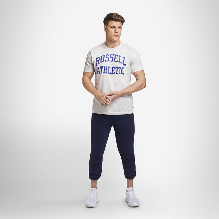 Men's Dri-Power® Closed Bottom Fleece Sweatpants (No Pockets) Navy