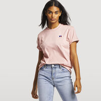 Women's Heritage Heavyweight Boyfriend Tee PINK