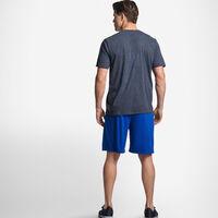 Men's Cotton Performance T-Shirt BLACK HEATHER