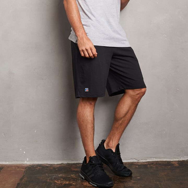 Men's Heavyweight Cotton Classic Short BLACK