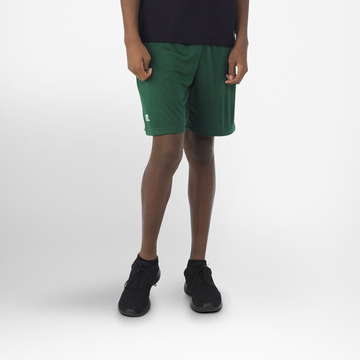Youth Dri-Power® Essential Performance Shorts with Pockets DARK GREEN