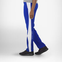 Women's Woven Warm Up Pants ROYAL/WHITE
