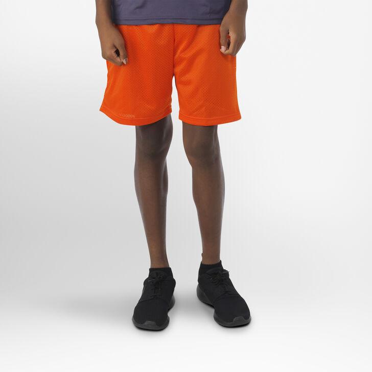 Youth Dri-Power® Mesh Shorts BURNT ORANGE