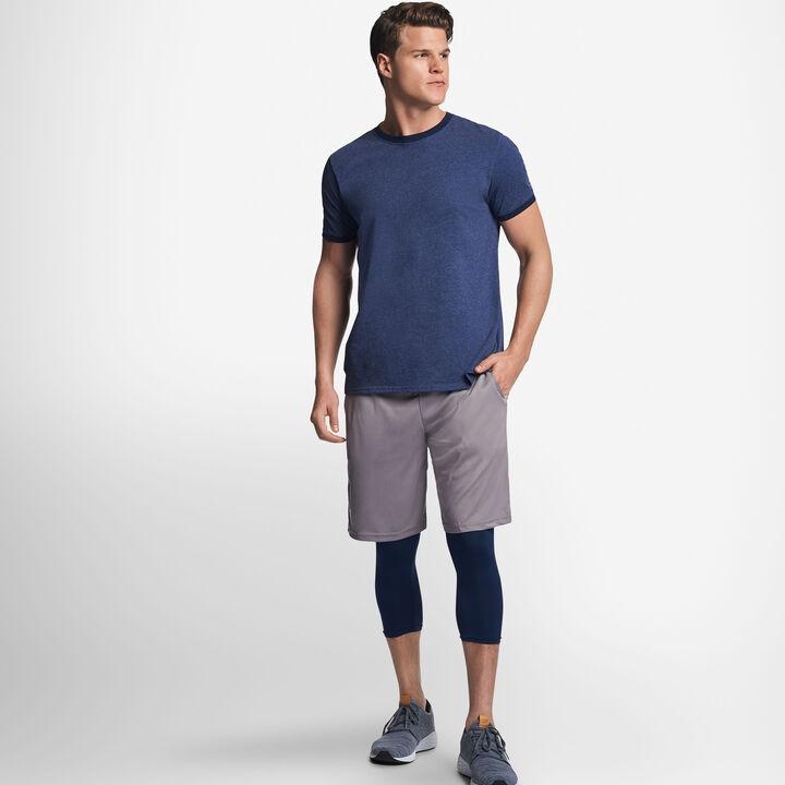 Men's Cotton Performance Ringer T-Shirt VINTAGE NAVY/NAVY