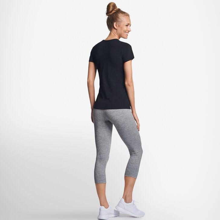 Women's Cotton Performance T-Shirt BLACK