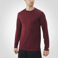 Men's Dri-Power® Core Performance Long Sleeve Tee MAROON
