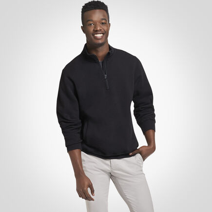 Men's Dri-Power® Fleece 1/4 Zip BLACK