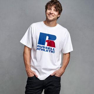 Men's Iconic Eagle R T-Shirt WHITE