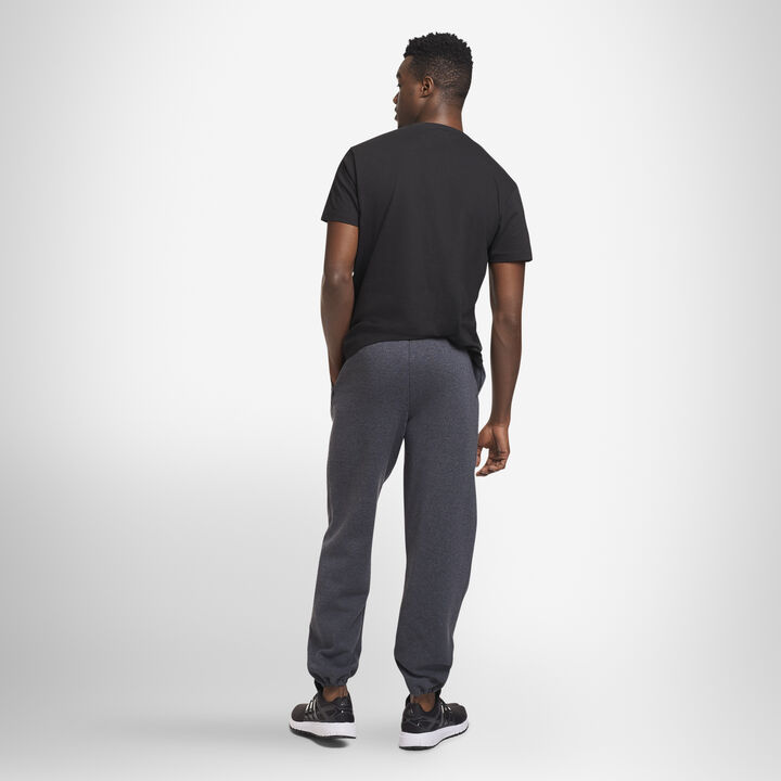 Men's Dri-Power® Closed Bottom Fleece Sweatpants BLACK HEATHER