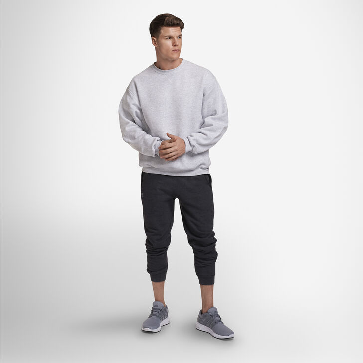 Men's Dri-Power® Fleece Crew Sweatshirt ASH