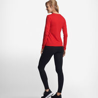 Women's Cotton Performance Long Sleeve T-Shirt TRUE RED
